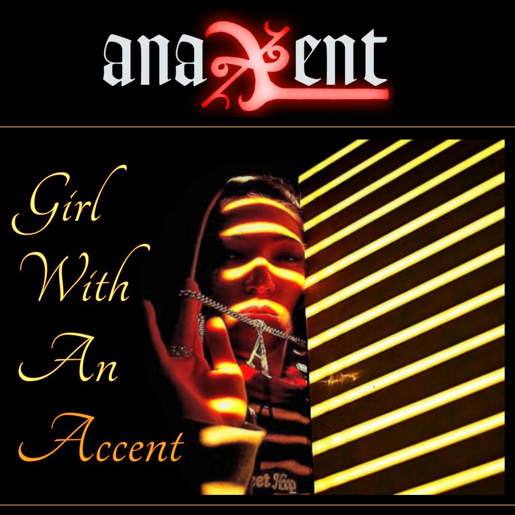Anaxent - The Girl With An Accent - cover